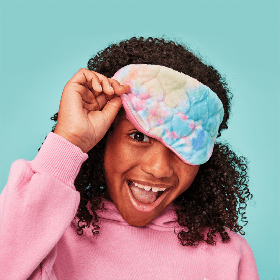 Picture of Cotton Candy Heart Eye Mask
