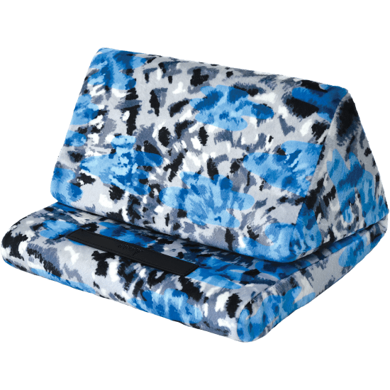 Picture of Blue Tie Dye Tablet Pillow