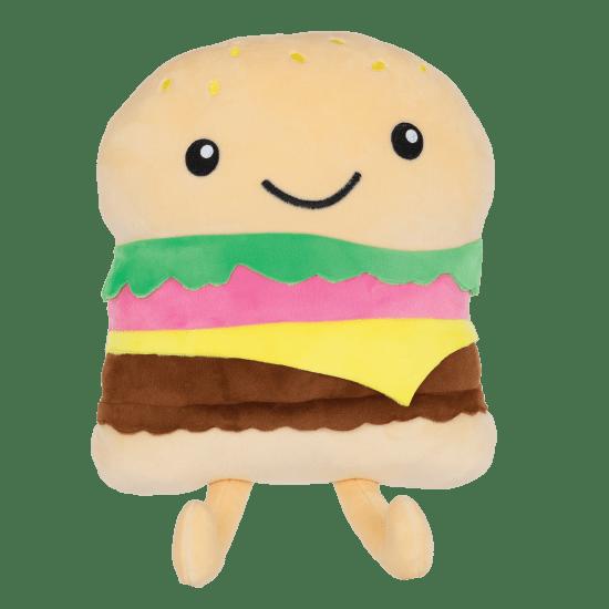 Picture of Happy Burger Fleece Pillow