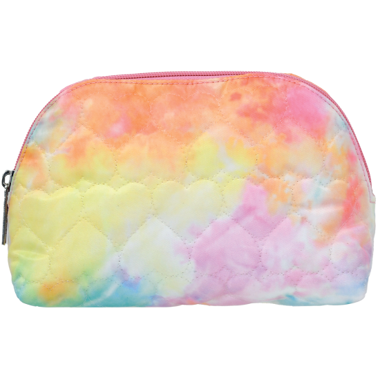 Picture of Cotton Candy Heart Oval Cosmetic Bag