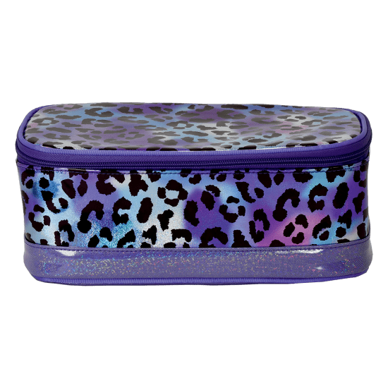 Picture of Iridescent Leopard Cosmetic Case