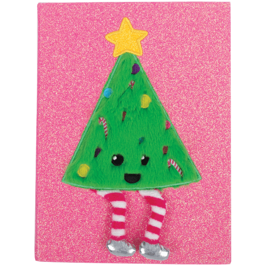 Picture of Christmas Tree Furry Journal