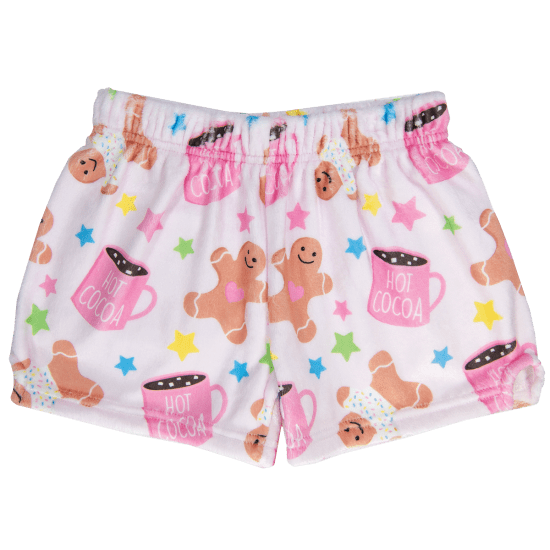 Picture of Sweet Holiday Plush Shorts