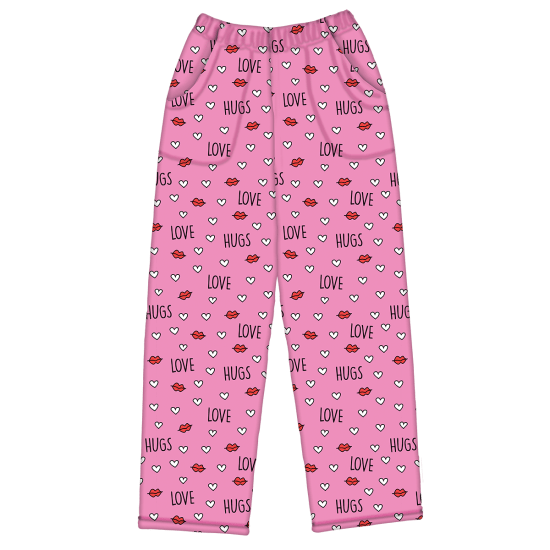 Picture of Love and Hugs Plush Pants