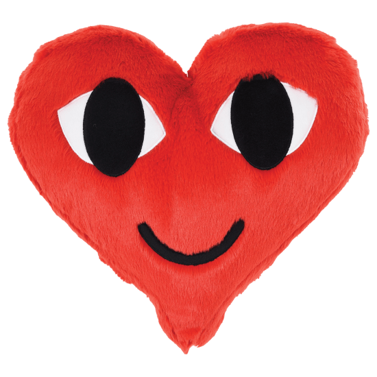 Picture of VSCO Heart Furry Pillow