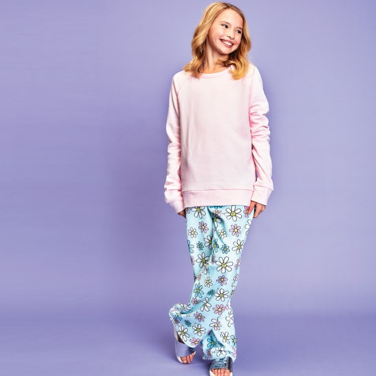 Picture of Daisies Plush Pants