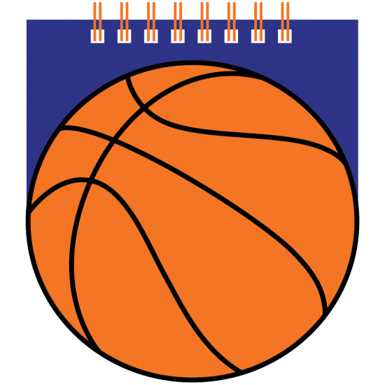 Picture of Basketball Mini Notebook