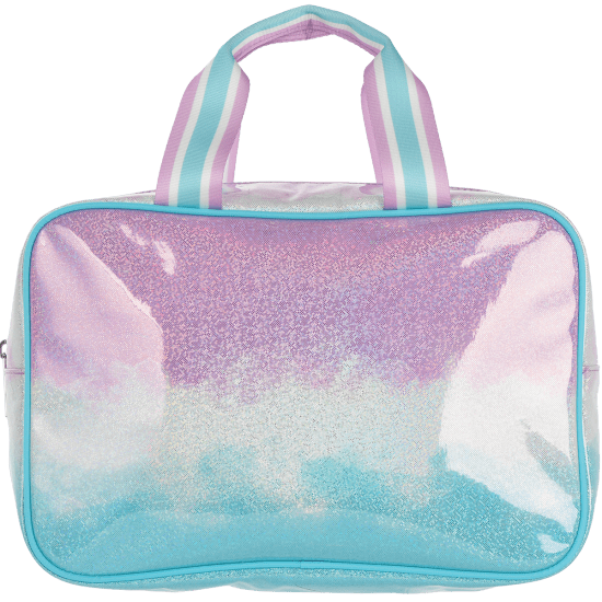 Picture of Ombre Sparkly Large Cosmetic Bag