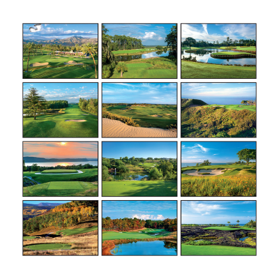 Picture of Golf Wall Calendar