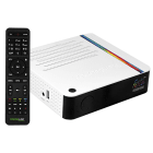 Receptor FTA Tocomlink Festa HD 4K H.265 com Porta Ethernet/USB 2.0 - Branco