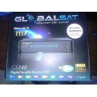 Receptor Globalsat GS340 HD - IKS SKS CS 3 Tuner