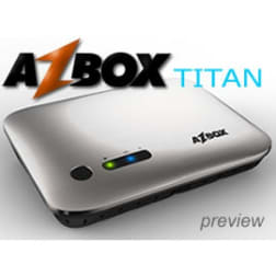 Receptor Azbox Titan 2 Tunner DVB-S2 Wifi HDMI Ethernet Android 4.0