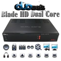 Receptor Duosat Blade Full HD 1080p Dual core Wifi 2 Antenas IPTV 3D