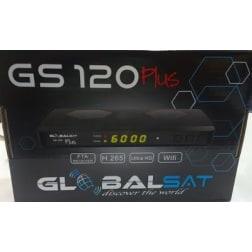 GLOBALSAT GS 120 PLUS - Ultra HD 4k Wifi FTA H265