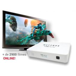 NETLINE X200 CABO + IPTV CANAIS + IPTV FILMES