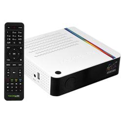 Tocomlink Festa HD 4K H.265 com Porta Ethernet/USB 2.0 - Branco