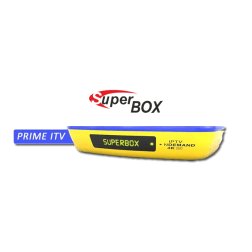 Receptor Superbox Prime ITV 4K - Iptv ondemand