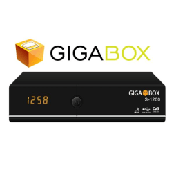 RECEPTOR FTA GIGABOX S-1200 HD ACM WIFI