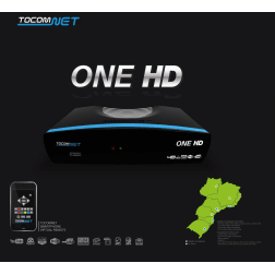 Receptor Tocomnet One HD Cabo Iks Free