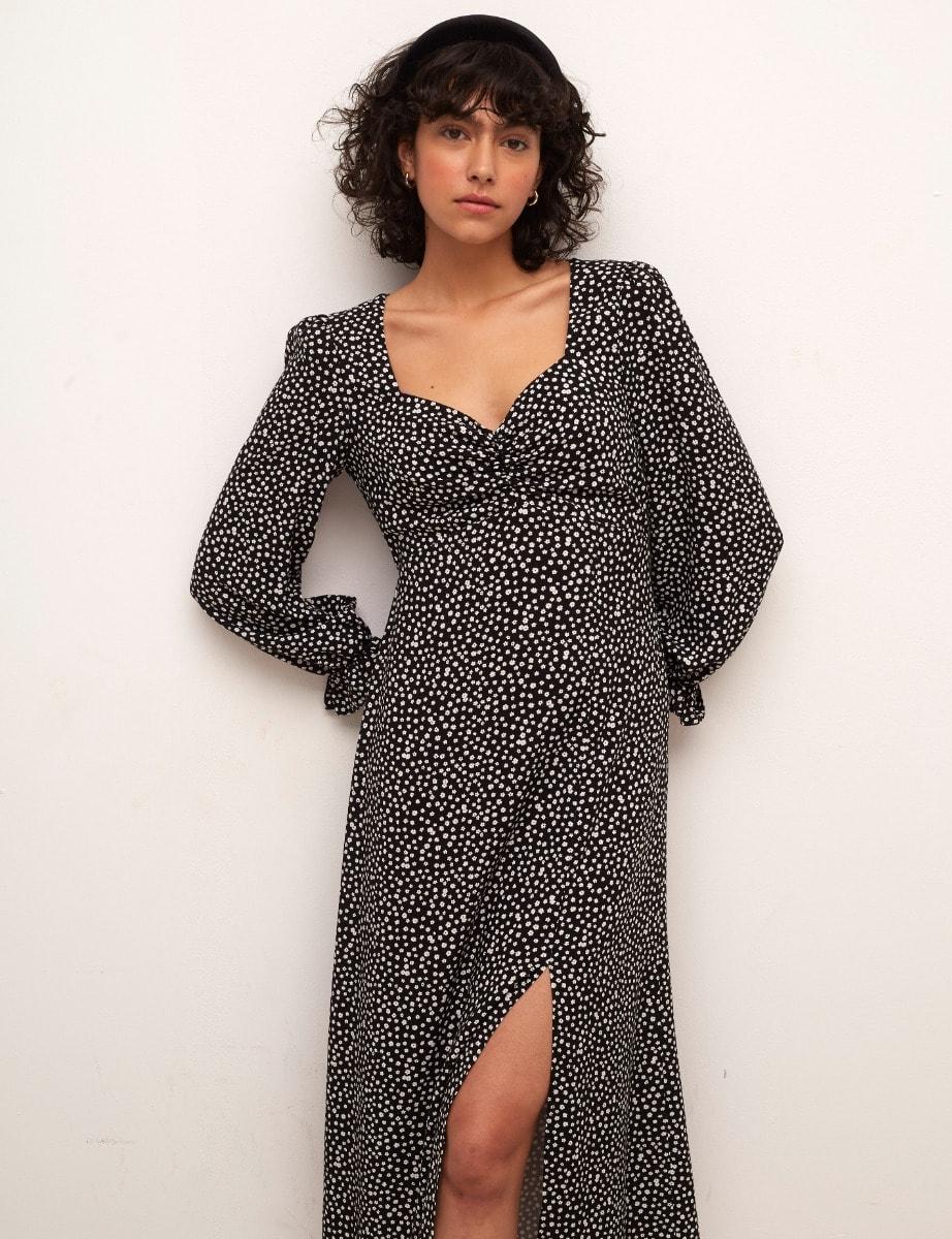 Lenzing Ecovero Long Sleeve Rosie Midi Dress