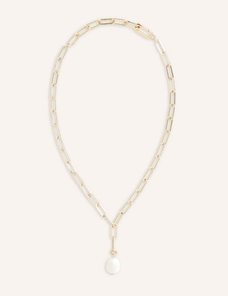Lisa Chunky Pearl Necklace