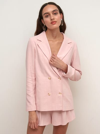 Betty Double Breasted Blazer