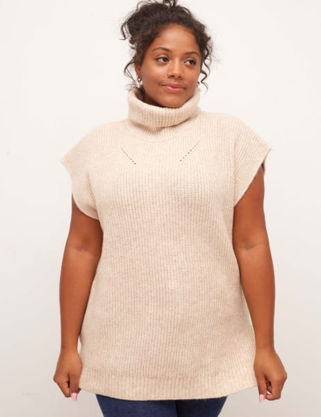 Curve Roll Neck Tabard