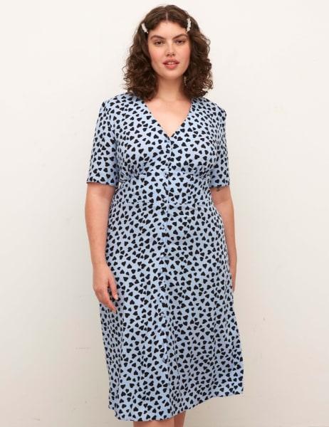Curve Alexa Midi Dress