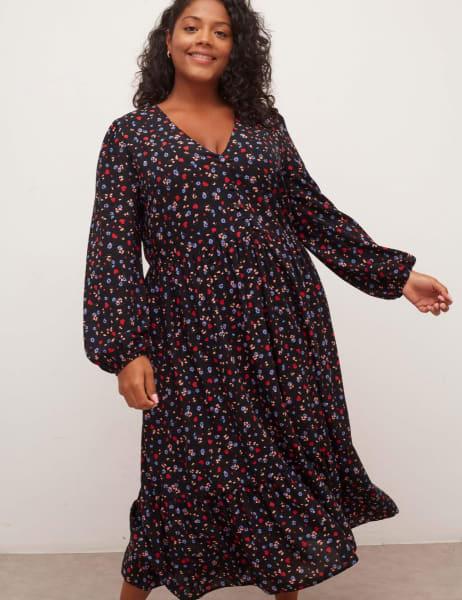 Curve Izzy Midi Dress