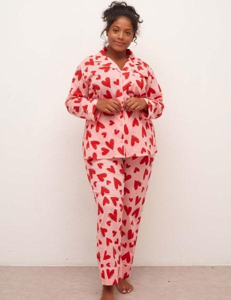 Curve Martha Long Sleeve Pyjama Trouser Set