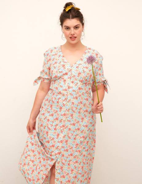 Curve Alexis Midi Dress