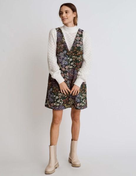 Billie Tapestry Mini Dress