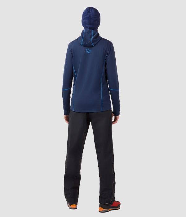 784daa2a27a4 Norrøna trollveggen /wool1 varm huvtröja i ull med dragkedja i ...