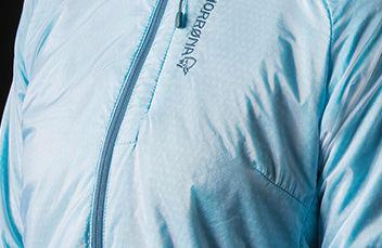 Norrøna alpha60 jakke til dame. Lett, vindtett og fleksibel jakke
