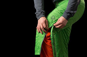 lyngen alpha100 3/4 pants for men