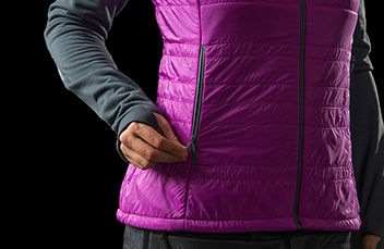 lyngen alpha100 ski topptur Vest for women
