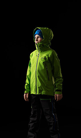 Wind and waterproof junior jacket