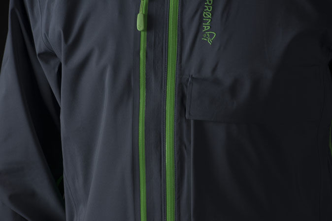 Norrøna lyngen driflex3 jacket for ski touring