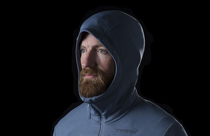 Norrøna bitihorn powerstretch hood jacket men