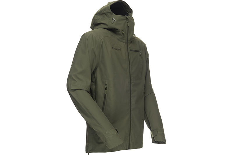 Norrøna jakke til jakt med vanntett dri3 materiale - Dovre dri3 jacket for men and women