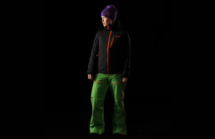 Norrona lofoten alpha jacket for women