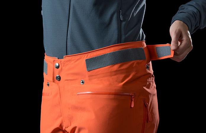 Norrøna lyngen driflex3 ski touring pants - waist adjustment