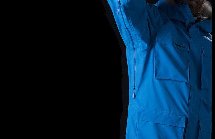 Norrona svalbard jacket ventilation