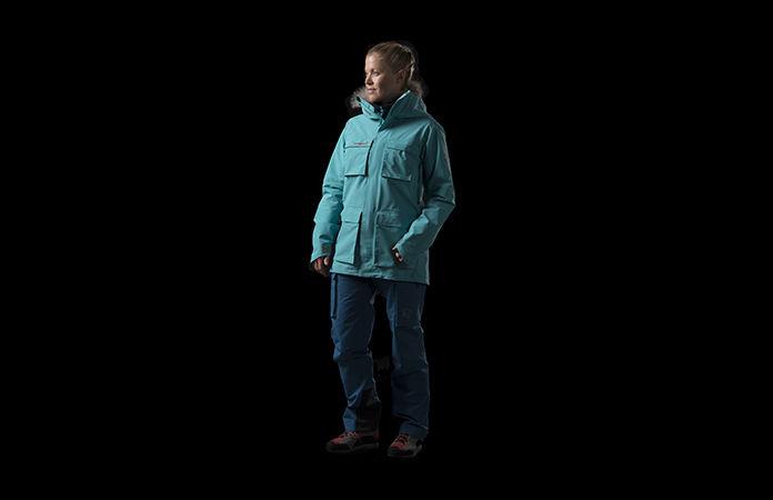 Norrøna svalbard Gore-Tex jakke til dame for helårsbruk