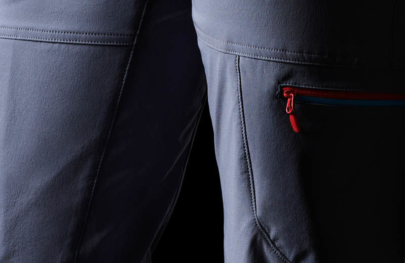 Norrona climbing pants in softshell for women - Falketind flex1