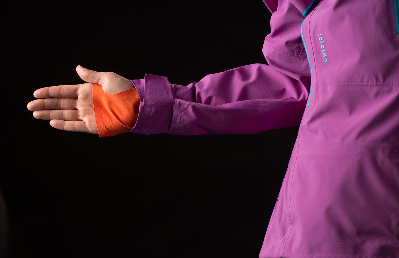 Norrona lofoten Pro jacket hand gaiter