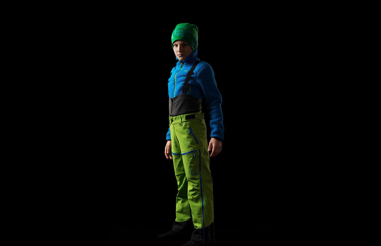 Norrona lofoten junior Gore-Tex primaloft pants for boy and girl