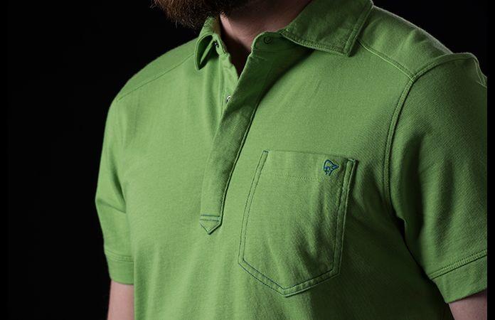 Norrøna /29 økologisk bomull polo skjorte til herre