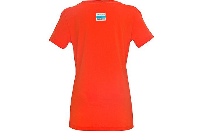 Norrøna t-skjorte dame - Økologisk bomull - rød