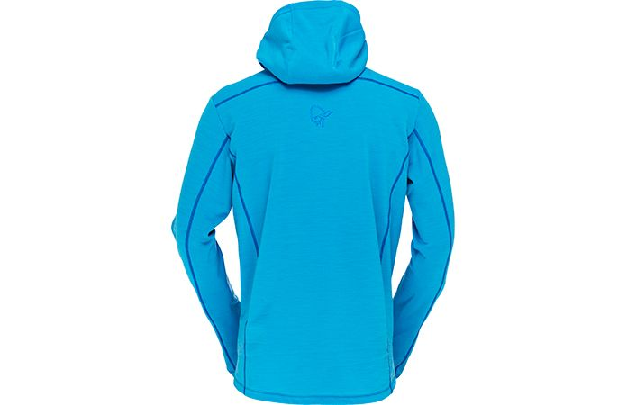 Norrøna bitihorn powerstretch hood jacket men - back